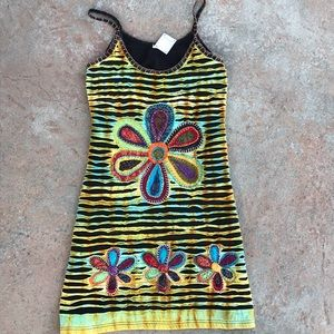 Hand dyed dress